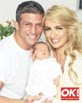 Alex Reid, Chantelle Houghton photo baby